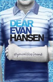 Dear Evan Hansen key artwork